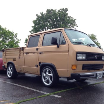 A sweet example of a 1985 T3 Transporter/Doka