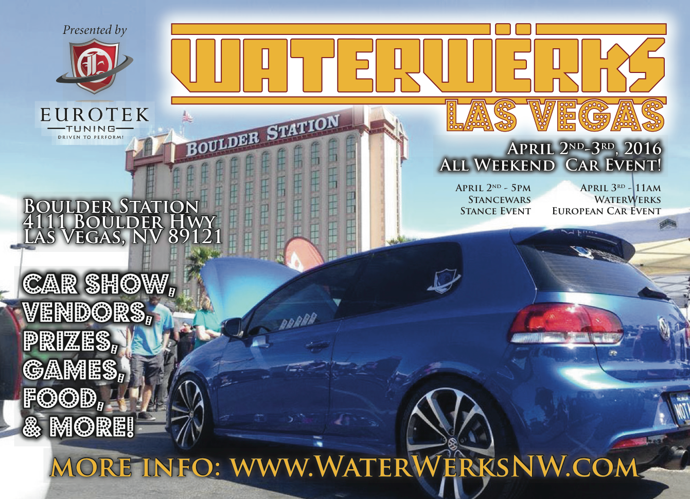 WaterWerks NW - Vw car show las vegas